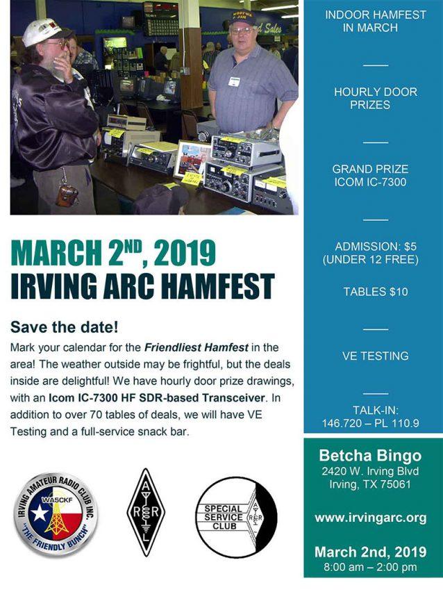 HAMFEST 2019 @ Betcha Bingo  | Irving | Texas | United States